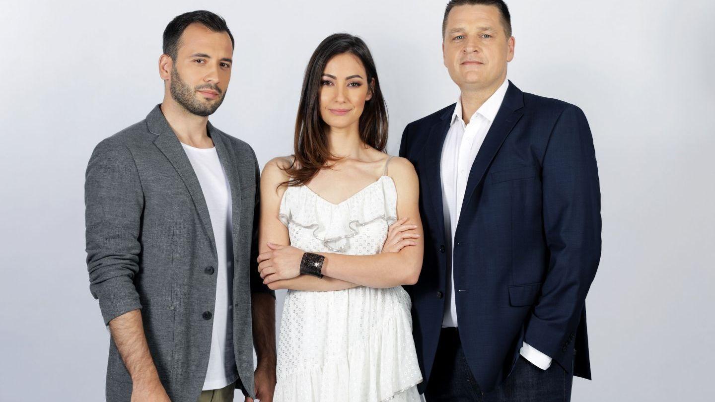 Costi Mocanu, Daniel Nițoiu și Raluca Aprodu vor prezenta show-ul Ninja Warrior România