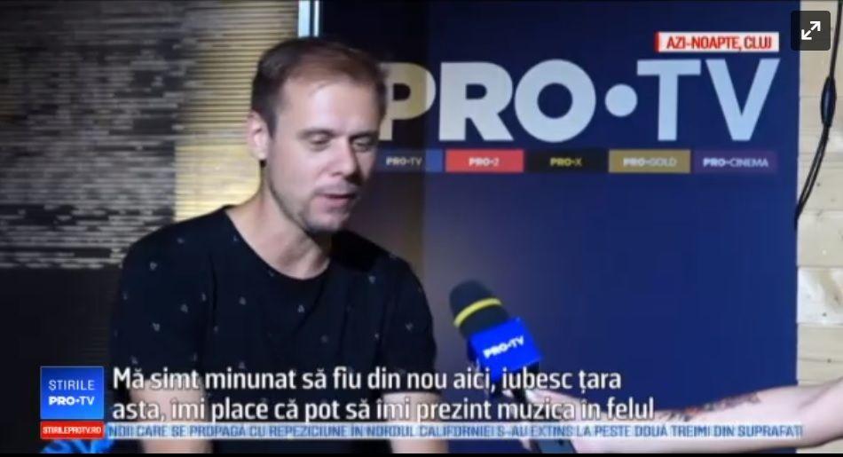DJ-ul olandez Armin van Buuren, show de Cartea Recordurilor la Untold: a mixat 7 ore. Ce a spus despre România