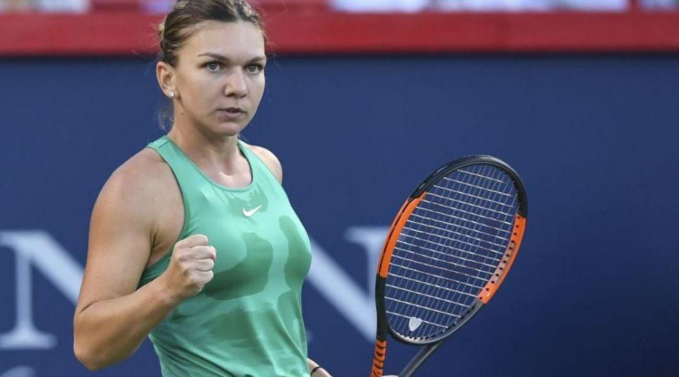 Cum a reacționat Simona Halep după ce câțiva români din tribune au scandat mesaje anti-PSD în timpul finalei Rogers Cup