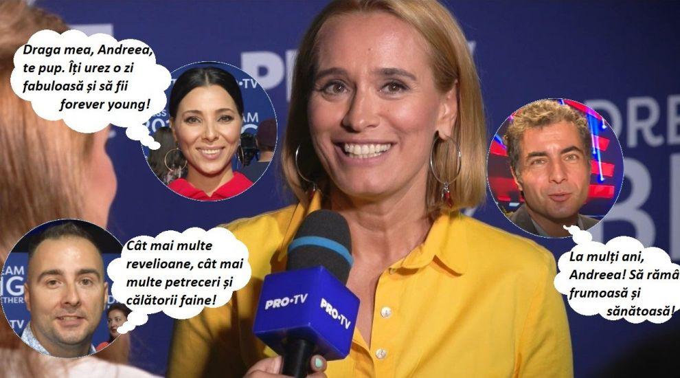 """Colegii din PRO TV, mesaje emoționante pentru Andreea Esca de ziua ei: """"La mulți ani, Andreea! Ești cea mai tare"""""""