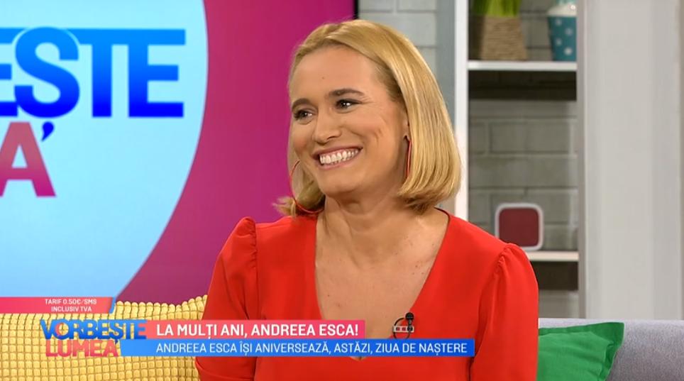 VIDEO Andreea Esca își aniversează astăzi ziua de naștere