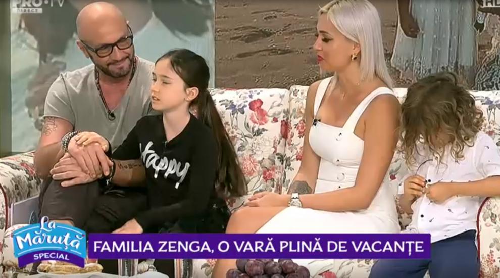 VIDEO Familia Zenga, o vara plina de vacante! Destinațiile de lux pe care le-au ales