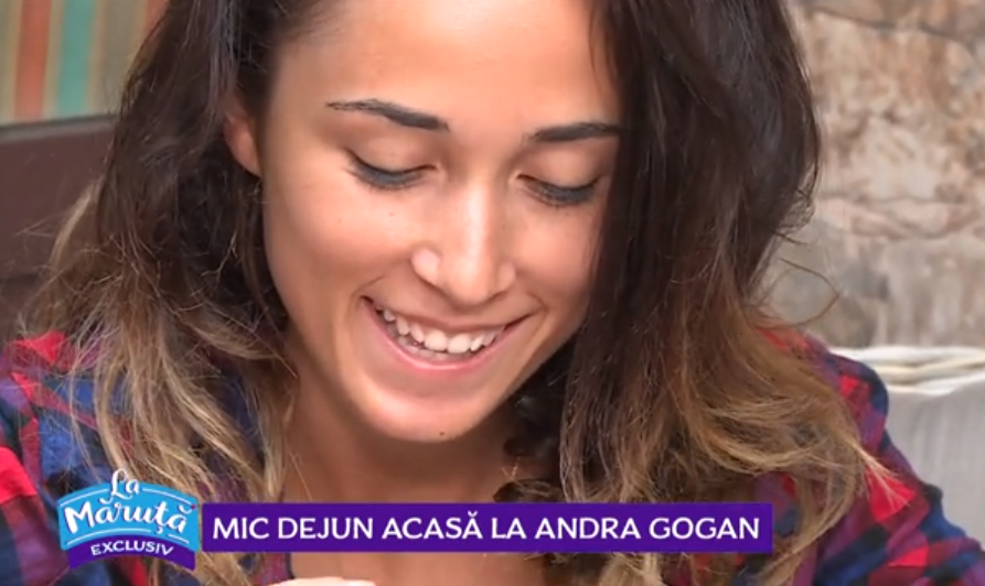 VIDEO Andra Gogan a vorbit în exclusivitate pentru emisiunea La Măruță