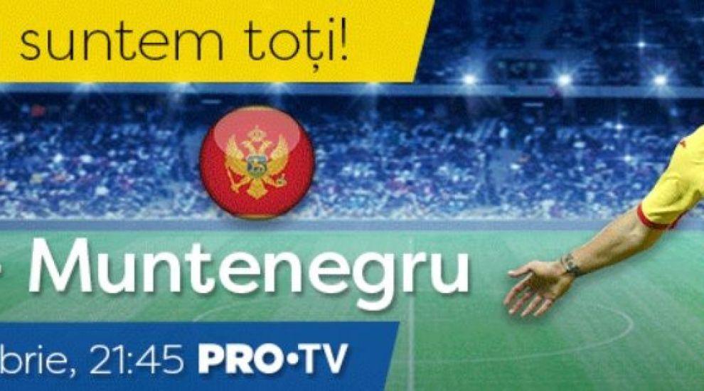 Naționala suntem toți! România și Muntenegru, față în față în UEFA Nations League vineri seară!
