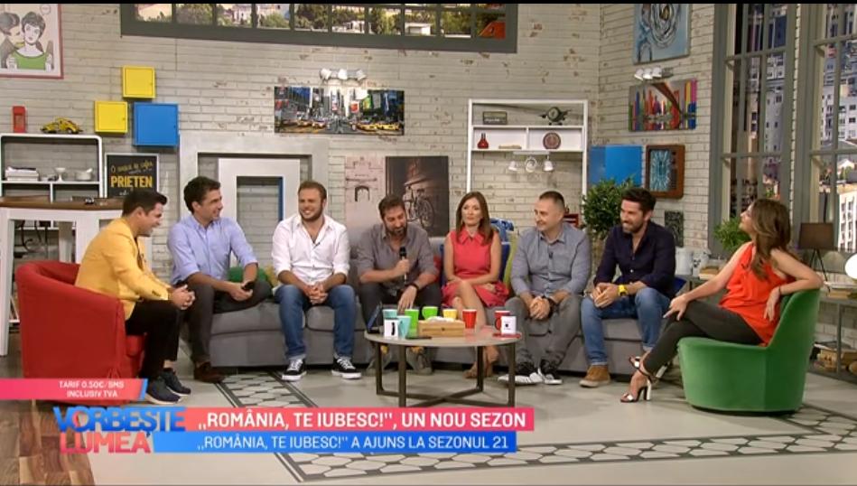 "VIDEO ""România, te iubesc"" un nou sezon din 16 septembrie la PROTV"