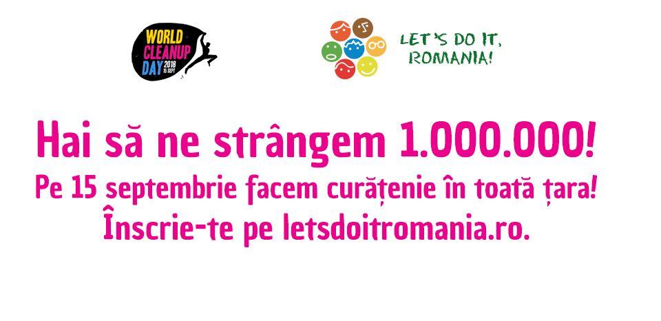 Vedetele PRO TV susțin campania Let's do it România. Pe 15 septembrie curățăm împreună toată țara. Participă și tu