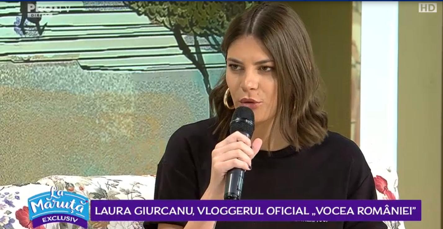 VIDEO Laura Giurcanu, vloggerul oficial al show-ului muzical Vocea României, ne-a povestit despre experiența sa din culise