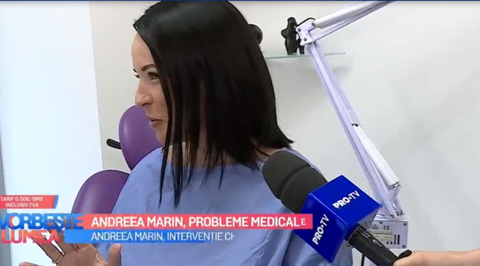 """VIDEO Andreea Marin se pregătește de operație! """"La început nu dădeam importanță"""""""