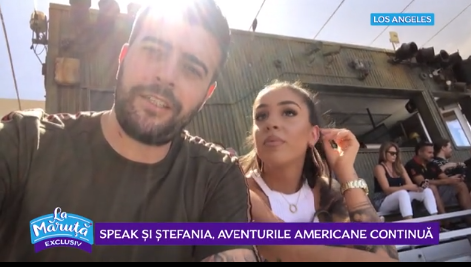 """VIDEO Aventurile americane alături de Speak și Ștefania: """"Mamă! Ce-i aici frate..."""""""
