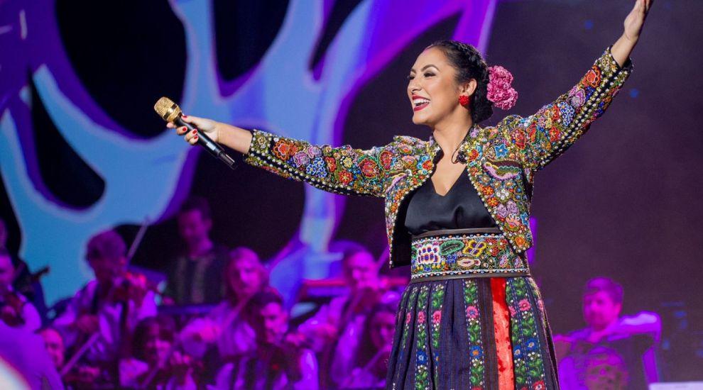 Marea Unire a invitaților speciali la concertul de muzică populară al Andrei