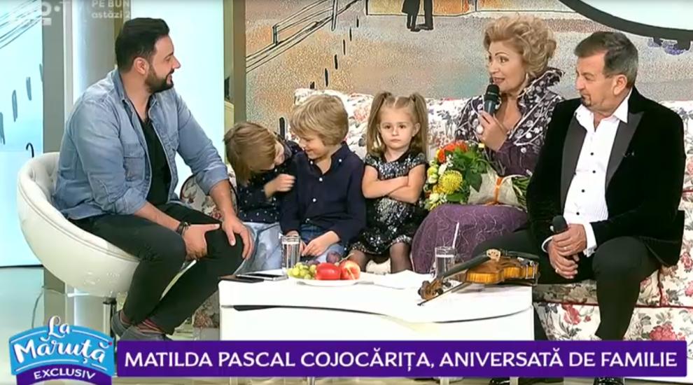 VIDEO Matilda Pascal Cojocărița, aniversată de familie