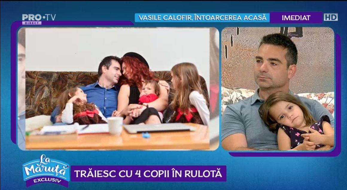 VIDEO Povestea familiei care trăiește în rulotă