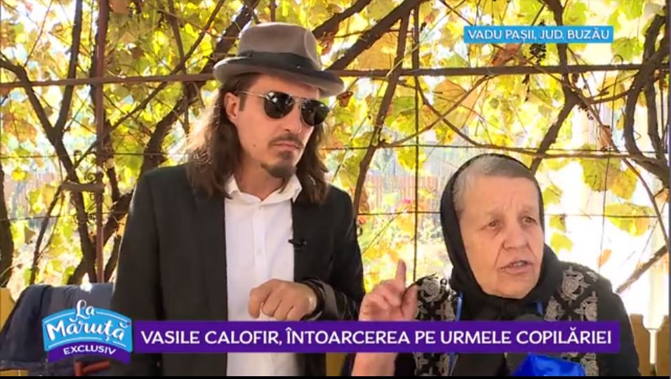 VIDEO Vasile Calofir, întoarcerea pe urmele copilăriei