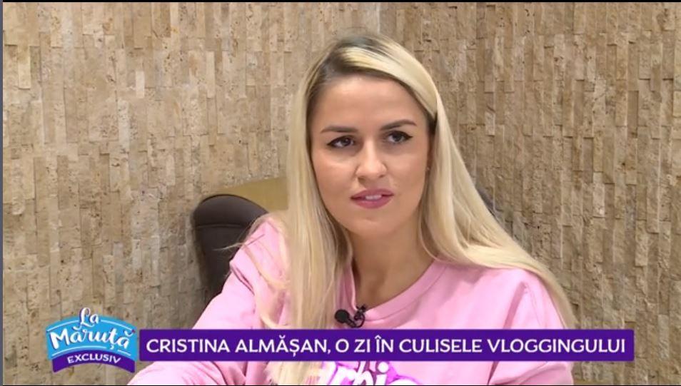 VIDEO Cum arată o zi cu Cristina Almășan
