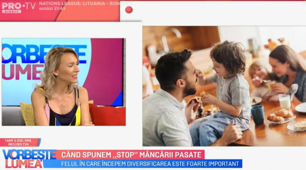 """VIDEO Crina Coliban ne spune când să punem """"stop"""" mâncării pasate"""