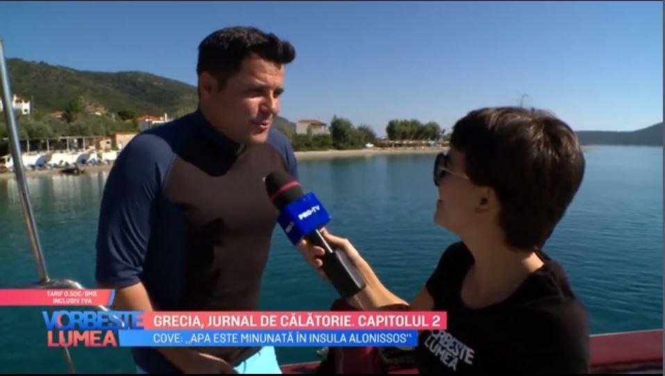 VIDEO Cove, călătorie de vis pe tărâmul grecesc