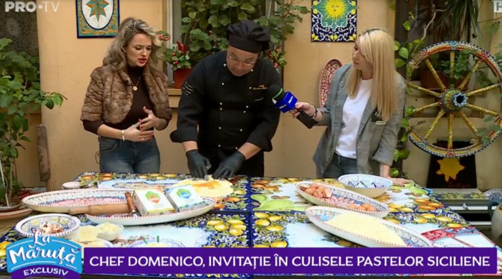 VIDEO Chef Domenico, invitație în culisele pastelor siciliene