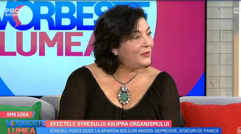 VIDEO Dr. Luiza Spiru ne explică despre efectele stresului asupra organismului