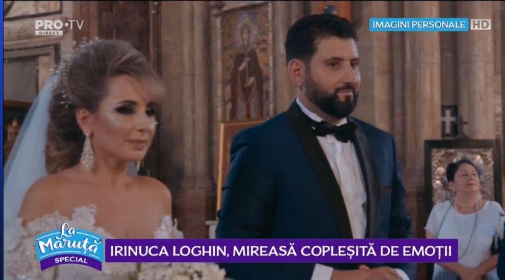 VIDEO Fiica Irinei Loghin, imagini în exclusivitate de la nuntă