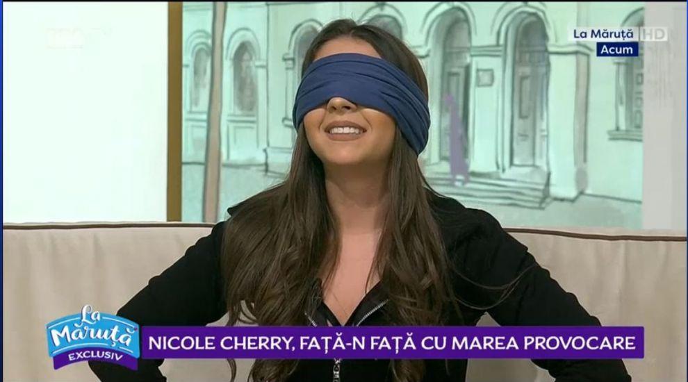 VIDEO Nicole Cherry, provocare culinară. Ce a degustat cântăreața