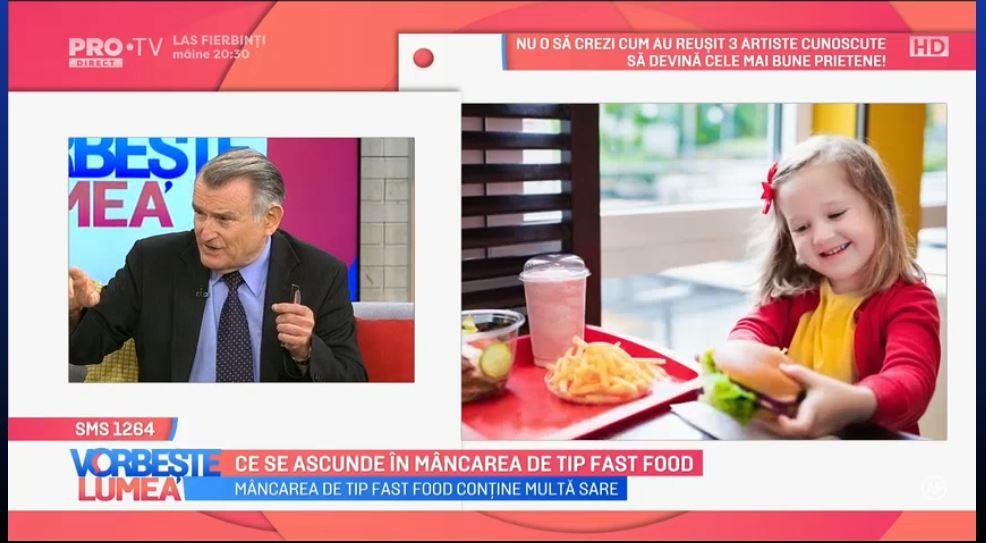 VIDEO Ce se ascunde în mâncarea de tip fast food