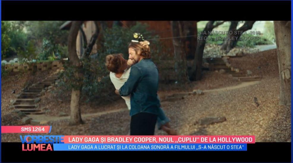 "VIDEO Lady Gaga și Bradley Cooper, noul ""cuplu"" de la Hollywood"