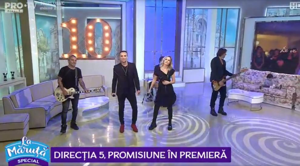 """VIDEO Direcția 5, promisiune în premieră """"La Măruță"""""""