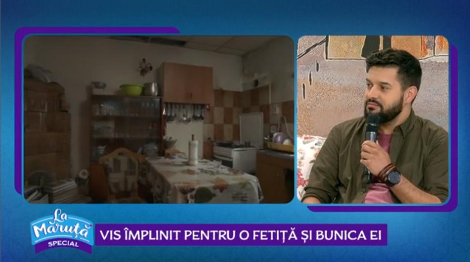 """VIDEOCiprian Vlaicu, de la """"Visuri la cheie"""", vis împlinit pentru o fetiță și bunica ei"""