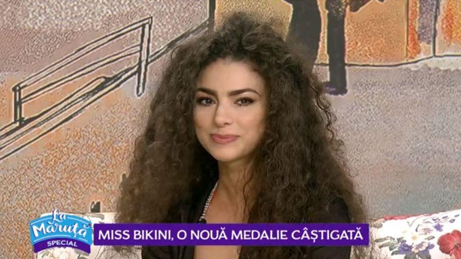 VIDEO Miss bikini, Cătălina Dumitran, o nouă medalie câștigată