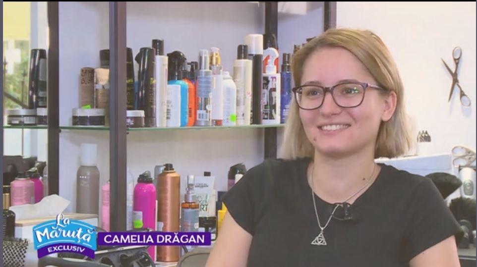 VIDEO Camelia Drăgan a avut parte de o transfomare inedită, marca Adrian Perjovschi