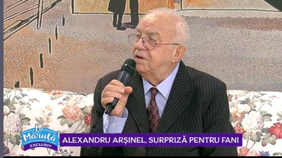 VIDEO Alexandru Arșinel, surpriză pentru fani