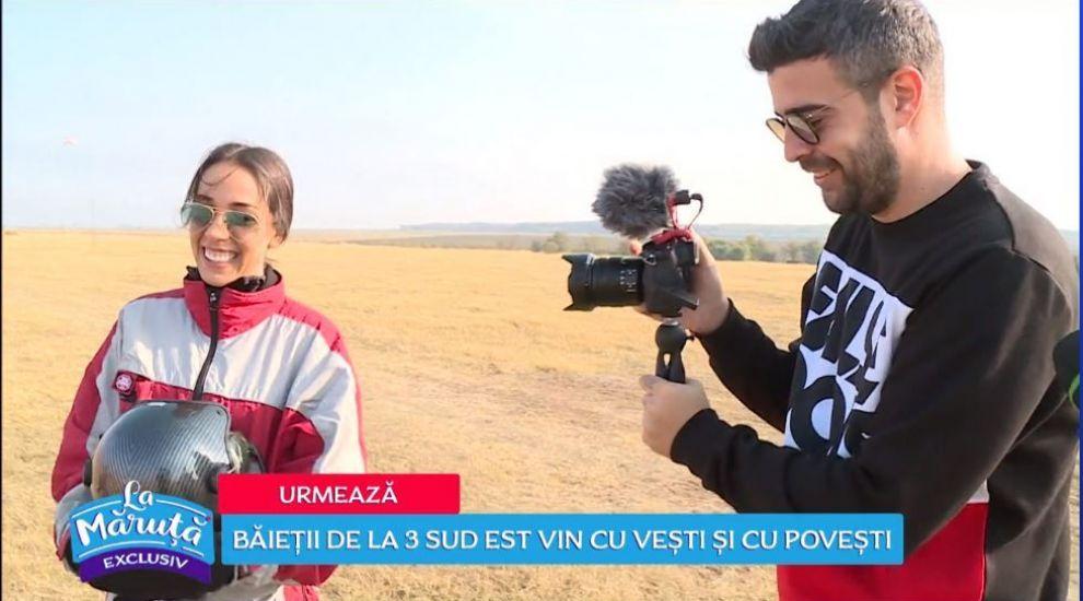 VIDEO Speak și Ștefania, între frică și curaj la parapantă