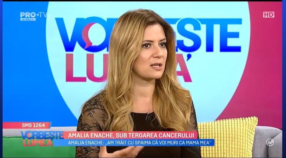 VIDEO Amalia Enache, sub amenințarea cancerului