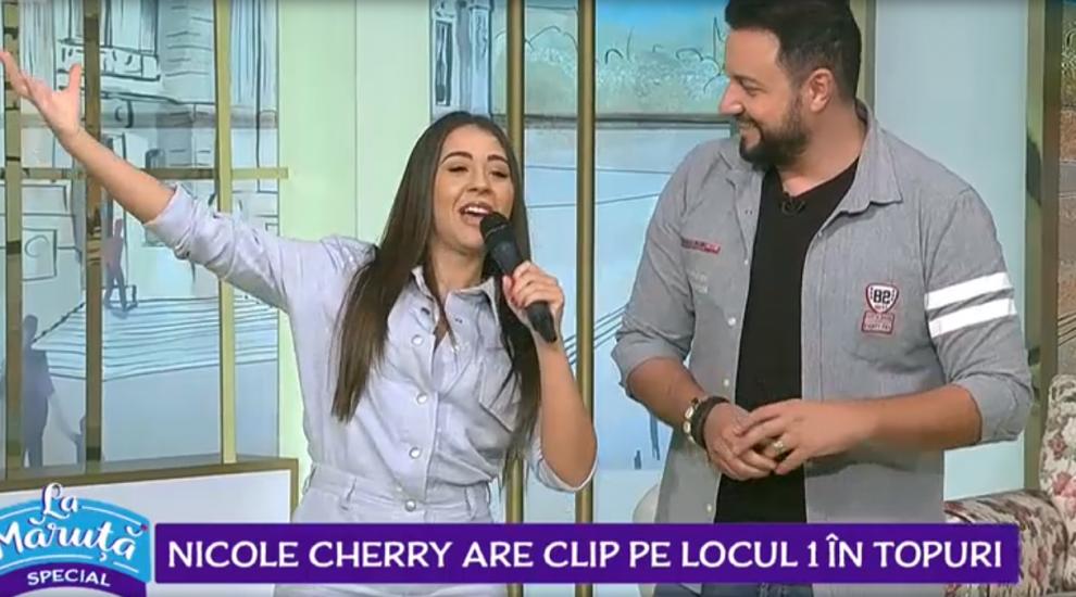 VIDEO Nicole Cherry are clip pe locul 1 în topuri