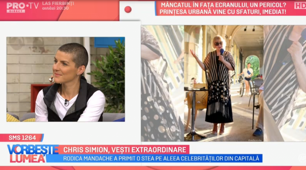 VIDEO Chriss Simion, vești extraordinare