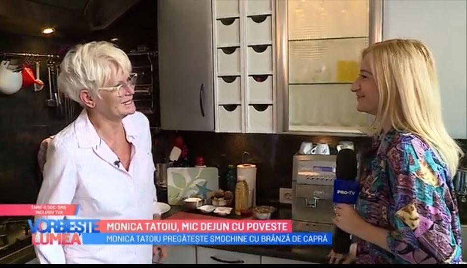 VIDEO Monica Tatoiu, mic dejun de poveste