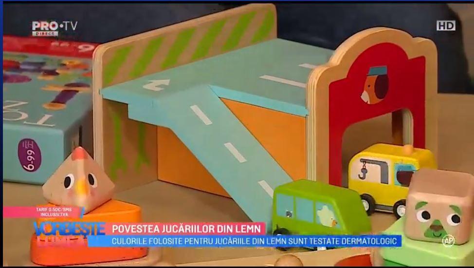 VIDEO Povestea jucăriilor din lemn