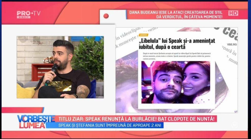 VIDEO Ce au scris ziarele despre Speak și Ștefania