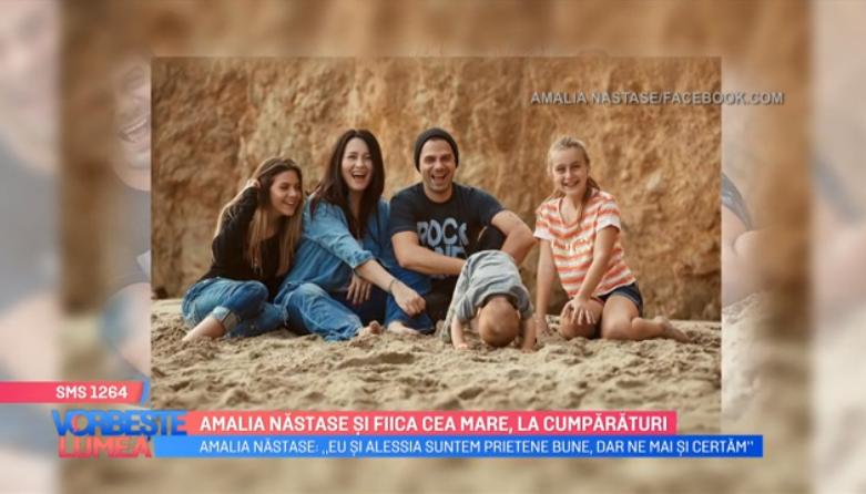 VIDEO Amalia Năstase și fiica cea mare, la cumpărături