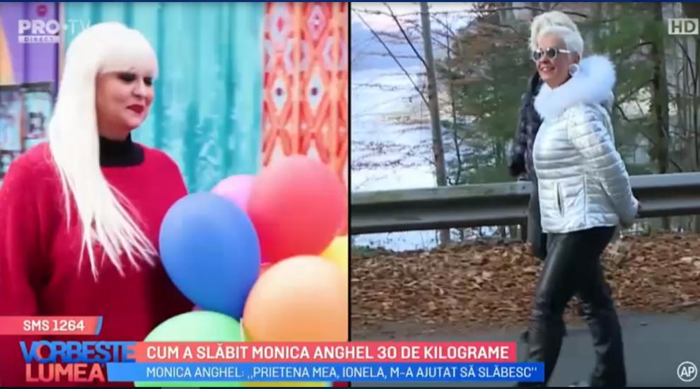VIDEO Cum a slăbit Monica Anghel 30 kilograme