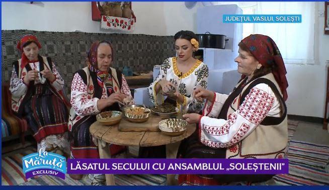 """VIDEO Lăsatul secului cu Ansamblul """"Soleștenii"""""""