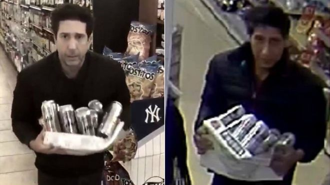 """Ce s-a întâmplat cu hoțul care seamănă cu Ross din """"Prietenii tăi"""", după ce imaginile cu el au devenit virale"""