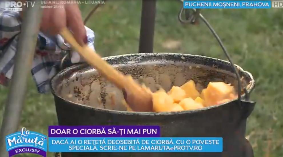 VIDEO Claudia gătește rețeta de ciorbă de dovleac cu lapte prins