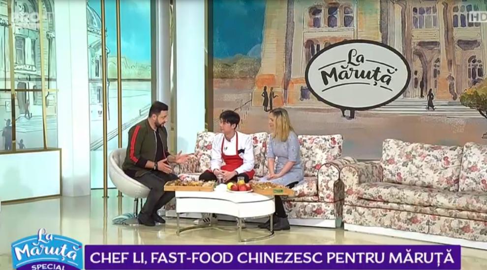 VIDEO Chef Li, fast-food chinezesc pentru Măruță
