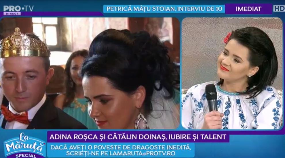 VIDEO Adina Roșca și Cătălin Doinaș, iubire și talent