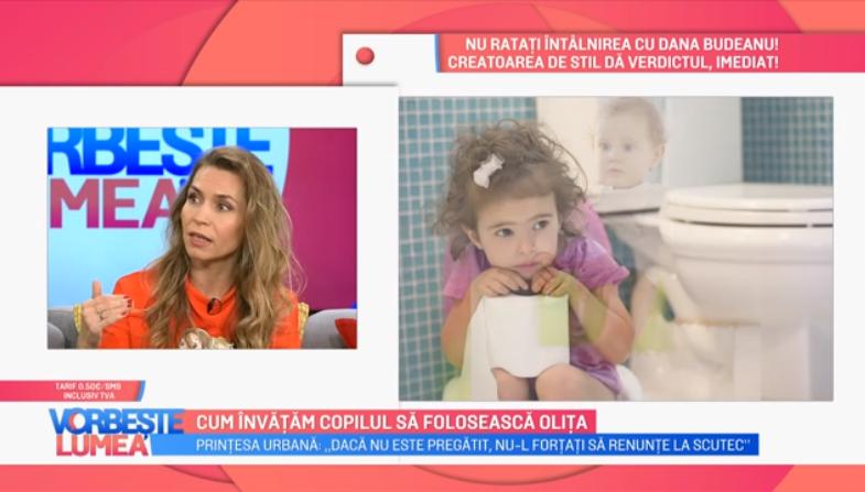 """VIDEO Prințesa Urbană:""""E bine să ascultăm ritmul copilului"""""""