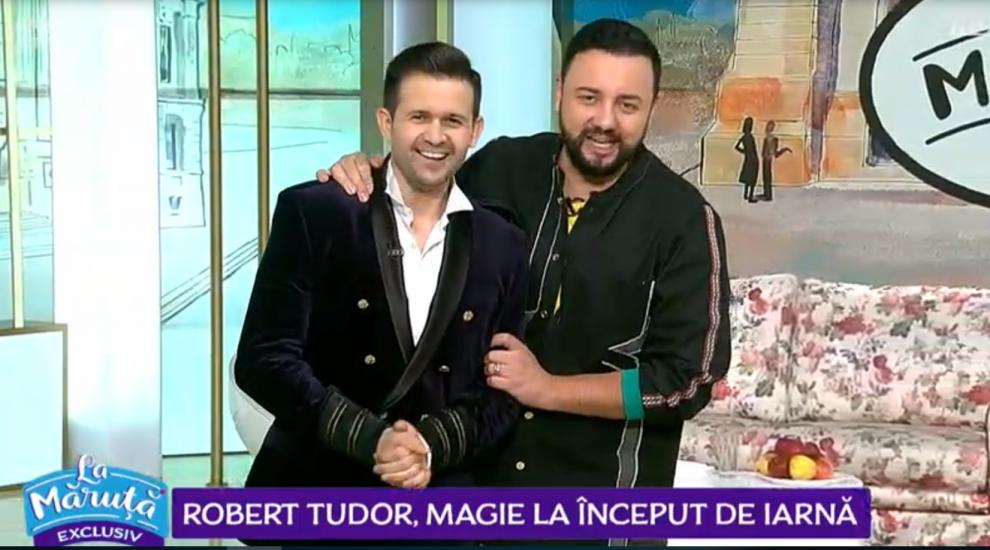 VIDEO Robert Tudor, magie la început de iarnă