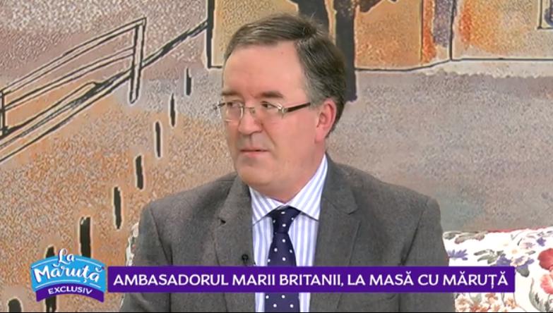 VIDEO Ospăț românesc pentru ambasadorul Marii Britanii