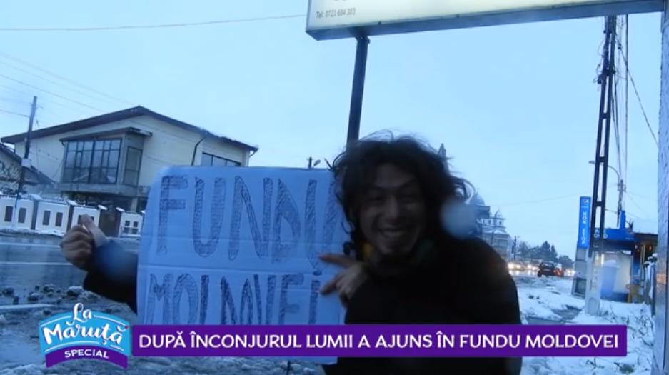 VIDEO După înconjurul lumii a ajuns în Fundu' Moldovei