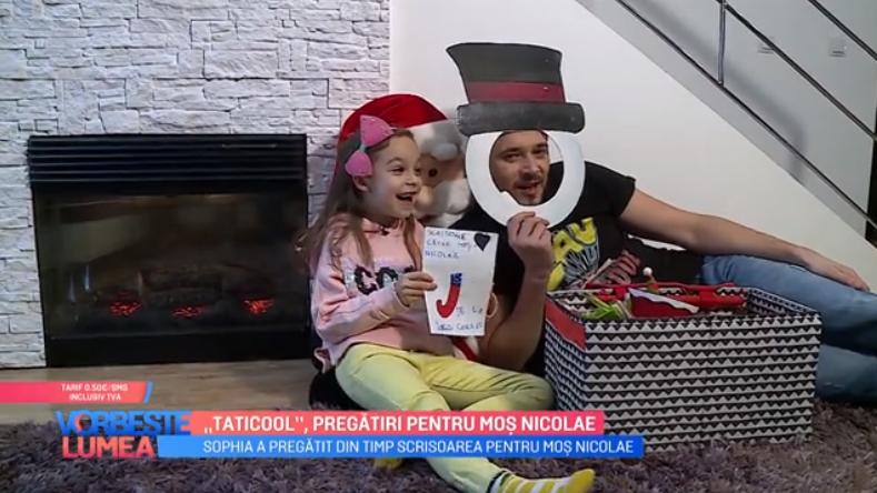 """VIDEO Cum se pregătește """"Taticool"""" pentru Moș Nicolae"""